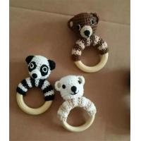 Wholesale Baby Toy Rattle Teething Baby Toy Grasping Teething Crochet Toys Dog Stuffed Toys Gift Bab from china suppliers