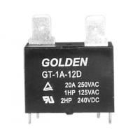Wholesale GT JQX-102F 12V 25A Subminiature PCB Power Relay Environmental Friendly from china suppliers