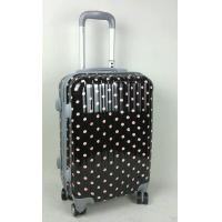 Wholesale Black Medium Hard Shell Suitcase 4 Wheel Side Handle Aluminum Alloy Trolley from china suppliers