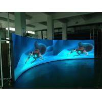 Wholesale Light Weight Slim Cuved Led Display For Shopping Mall Hotel Bar Concert , Wide Viewing Angle from china suppliers