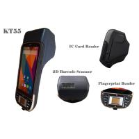 "Wholesale 5"" Handheld Rugged Android Industrial PDA with Barcode Scanner / Fingerprint Scanner from china suppliers"
