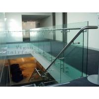 Quality Glass Stair Balustrade for sale
