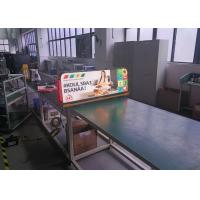 Quality Digital Rooftop LED Displays 3.33mm LED Taxi Topper LED Screens for sale