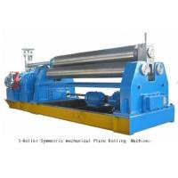 Wholesale Mechanical Symmetrical Bending Plate Roller Machine with 3 Rollers from china suppliers