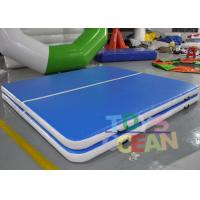 Wholesale Inflatable Gymnastics Sealed Jumping Tumble Air Track Fireproof Customized Size from china suppliers