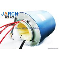 Wholesale 2 ~ 72 Conductors blue  through bore electrical slip ring / brush slip ring from china suppliers