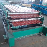 Wholesale High Speed Step Tile And Roof Double Layer Roll Forming Machine HT C8-C20 from china suppliers