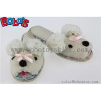 Wholesale Plush Cartoon Sheep Kids Slipper Indoor Children Shoes from china suppliers