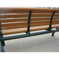 Wholesale Green Aluminium Frame  WPC Bench For Playground / Street / Public Place from china suppliers