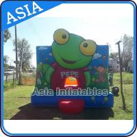 Wholesale Inflatable Bouncer Sapo Pepe Bouncy Castle For Party Hire Outdoor Games from china suppliers