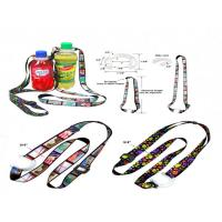 Wholesale Polyester Bottle Holder Lanyard With Adjustic Buckle from china suppliers
