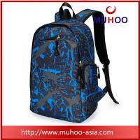 Buy cheap Blue travel sports duffle bag laptop school backpacks for college from wholesalers