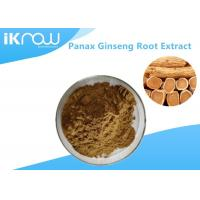 Wholesale 20% UV Panax Ginseng Root Extract Powder , Pure Natural Ginseng Herbal Supplement from china suppliers