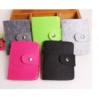 Wholesale high quality eco friendly felt passport holder felt card holder from china suppliers