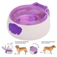 Wholesale Sensor pet feeder/ auto open and close pet bowl for cats and dogs/ pet food water from china suppliers