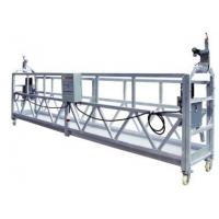Buy cheap 380V Electric ZLP Suspended aluminium Working Platform ZLP630 ZLP 500 from wholesalers