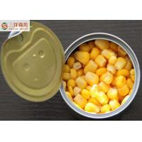 Wholesale Natural Helathy Organic Canned Vegetables / Canning Fresh Corn Tasty Sweet from china suppliers