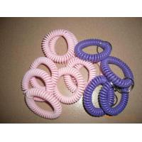 Wholesale Custom pink/purple color spiral wrist coil band without key ring cheap wrist holders from china suppliers