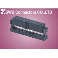 Wholesale 2mm IDC Connector , Press Flat Cable Type Wire To Board Idc Female Connector from china suppliers