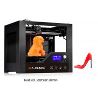 Wholesale ABS Filament Rapid Prototyping 3D Printer , Black Industrial 3D Printing Machine from china suppliers