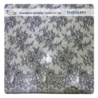 Wholesale 100% Nylon Lace Fabric Fashion Garments Wedding Dress Floral Stretch Lace Fabric from china suppliers