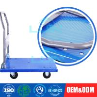 Wholesale Light - weight Steel Moving collapsible Platform Trolley for workshop from china suppliers