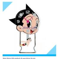 Wholesale small desk clock cartoon design  from china suppliers