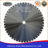 Wholesale Slant U Slot Type Diamond Cutting Disc For Concrete Wall Saw 4.8/5mm Segment Thickness from china suppliers