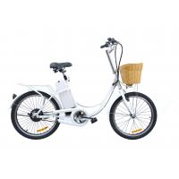 Wholesale Cute 9Ah 22'' city electric hub motor bicycle 250 Watt e bike for women from china suppliers