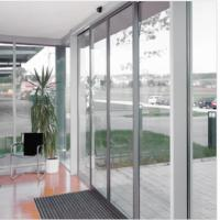 Wholesale Slender fine-frame profiles Commercial Automatic sliding doors system 4800*4200mm from china suppliers