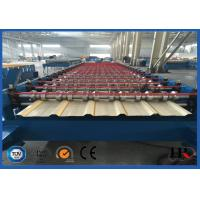 Wholesale 1m Output Width Roof Panel Roll Forming Machine With Mitsubishi Or Siemens PLC from china suppliers