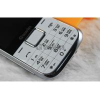 Wholesale White Blue Dual Sim Cards Dual Standby Phone , Expansion 8G TF Card from china suppliers