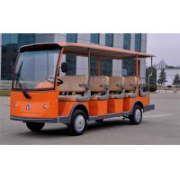 Wholesale Customized Colorful Electric Sightseeing Car , Electric Passenger Bus With 12+2 Seaters from china suppliers