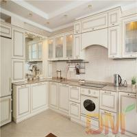 Wholesale Solid Wood Shaker Style Dark Kitchen Cabinet Project from china suppliers