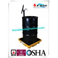 Wholesale Poly 55 Gallon Drum Containment Pallets Spill Platform For Single IBC Drum Tank from china suppliers