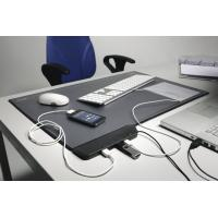 Fire Resistant Dry Erase Desk Pad With Clear Overlay