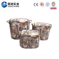 PU Leature Printing Wooden Furniture/Stool/Round Stool/Chair/Home Accents
