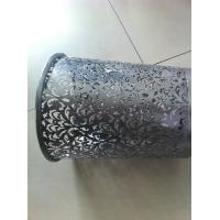 Wholesale Perforated Metal Mesh Trash , home Decorative Mesh Panels custom made from china suppliers