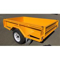 Quality Painted 750KG Tandem Box Trailer , Heavy Duty  7 X 5 Box Trailer for sale