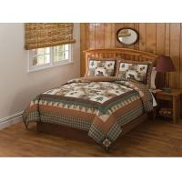 Wholesale Embroidery Quilt Bedding Set Cotton Filling With Patchwork Technics from china suppliers