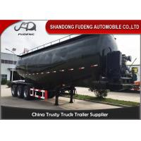 Wholesale Tri axle bulk cement tanker trailer lime powder coal ash powder trailer sale from china suppliers