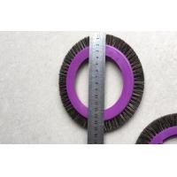 Wholesale Textile Machinery Stenter Brushes Roll Cotton Spindle Nylon Bristle Aluminum Body from china suppliers