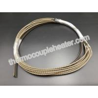 Wholesale 230V 1200W 2 X 4mm Electric Resistance Heater In Straight With J Type Thermocouple from china suppliers