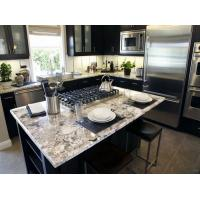 Wholesale Modern Stone Slab Countertop Kitchen Designs White Rose Granite Countertop from china suppliers