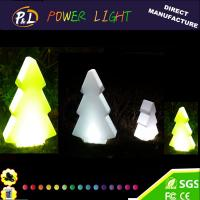 Wholesale Christmas Decoration Plastic Color Changing Illumianted LED Christmas Tree from china suppliers