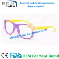 Wholesale Children Cat Sunglasses Frames Fashion Bowknot Eyeglasses Frame from china suppliers