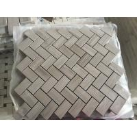Wholesale Chinese Wood Light Grain And Athens Gray Marble Grey Floor Mosaic Tile Athens grey marble mosaic tiles for wall from china suppliers