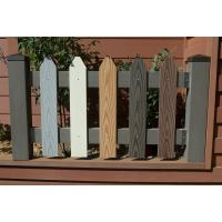 Wholesale Privacy Small Garden Wood Plastic Composite Fence Materials from china suppliers