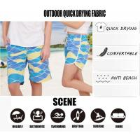 Buy cheap Prefer Brand Men Beach Shorts Board Trunks Shorts Casual Quick Drying Male Swimwear Swimsuits Bermuda Casual Active Swea from wholesalers