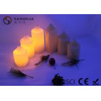 Wholesale False Wick Christmas Led Candles Warm White Light With 2XAA Battery from china suppliers